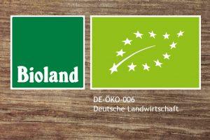 Biland Siegel / DE-ÖKO-006 Deutsche Landwirtschaft